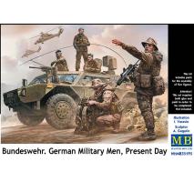 Masterbox 35195 - 1:35 Bundeswehr. German Military Men, Present Day - 5 figures