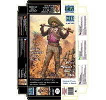 Masterbox 35205 - 1:35 Outlow. Gunslinger series. Kit No. 3. Pedro Melgoza - Bounty Hunter - 1 figures