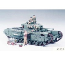 TAMIYA 35210 - 1:35 British Infantry Tank Mk.IV Churchill Mk.VII - 6 figures