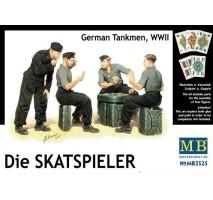 Masterbox 3525 - 1:35 Die Skatspieler, German Tankmen, WWII - 4 figures