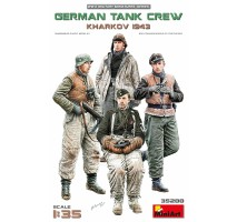 Miniart 35280 - 1:35 German Tank Crew.Kharkov 1943 - 4 figures