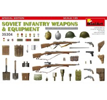 Miniart 35304 - 1:35 Soviet Infantry Weapons and Equipment. Spec. Ed.