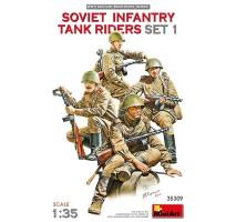 Miniart 35309 - 1:35 SOVIET INFANTRY TANK RIDERS SET 1