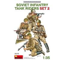 Miniart 35310 - 1:35 SOVIET INFANTRY TANK RIDERS SET 2