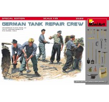 Miniart 35319 - 1:35 German Tank Repair Crew. Special Edition - 5 figures