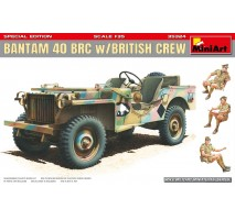 Miniart 35324 - 1:35 Bantam 40 BRC w/British Crew. Special Edition