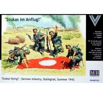 Masterbox 3545 - 1:35 Stukas flying!, German Infantry, Stalingrad, Summer 1942 - 4 figures