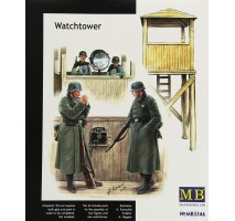 Masterbox 3546 - 1:35 Watch tower - 4 figures