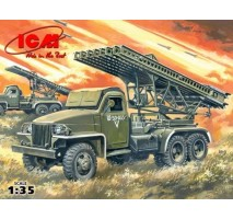 ICM 35512 - 1:35 BM-13-16N WWII Soviet Multiple Launch Rocket System