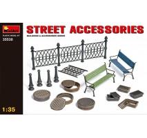 Miniart 35530 - 1:35 Street Accessories