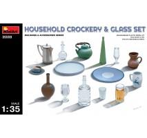Miniart 35559 - 1:35 Household Crockery & Glass Set