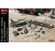 Miniart 35572 - 1:35 Railway Tools & Equipment
