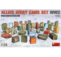 Miniart 35587 - 1:35 Allies Jerry Cans Set WW2