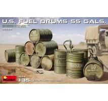 Miniart 35592 - 1:35 U.S. Fuel Drums (55 Gals.)
