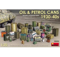 Miniart 35595 - 1:35 Oil & Petrol Cans 1930-40s
