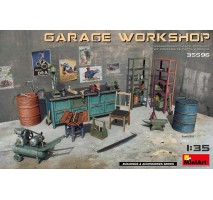 Miniart 35596 - 1:35 Garage Workshop