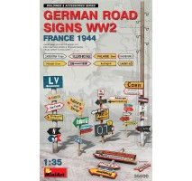 Miniart 35600 - 1:35 German Road Signs WW2 (France 1944)