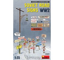 Miniart 35601 - 1:35 Soviet Road Signs WW2