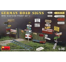 Miniart 35602 - 1:35 German Road Signs WW2 (Eastern Front Set 1)
