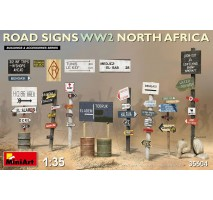 Miniart 35604 - 1:35 Road Signs WW2 (N.Africa)