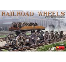 Miniart 35607 - 1:35 Railroad Wheels