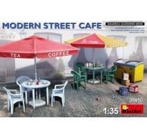 Miniart 35610 - 1:35 Modern Street Cafe