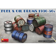 Miniart 35613 - 1:35 Fuel & Oil Drums 1930-50s