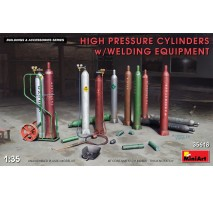 Miniart 35618 - 1:35 High Pressure Cylinders w/Welding Equipment