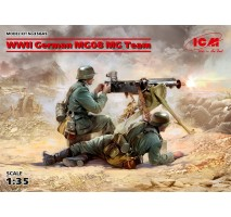 ICM 35645 - 1:35 WWII German MG08 MG Team (2 figures) (100% new molds)