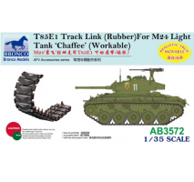 Bronco Models AB3572 - 1:35 T85E1 Track Link (Rubber Type) For M24 Light Tank 'Chaffee'