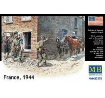 Masterbox 3578 - 1:35 France, 1944 - 6 figures