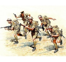 Masterbox 3580 - 1:35 British Infantry in action, Northern Africa, WW II era - 5 figures