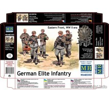 Masterbox 3583 - 1:35 German Elite Infantry, Eastern Front, WW II era - 5 figures