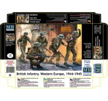 Masterbox 3585 - 1:35 British Infantry. Western Europe. 1944-1945 - 5 figures