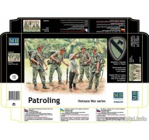 Masterbox 3599 - 1:35 Patroling. Vietnam War series - 5 figures