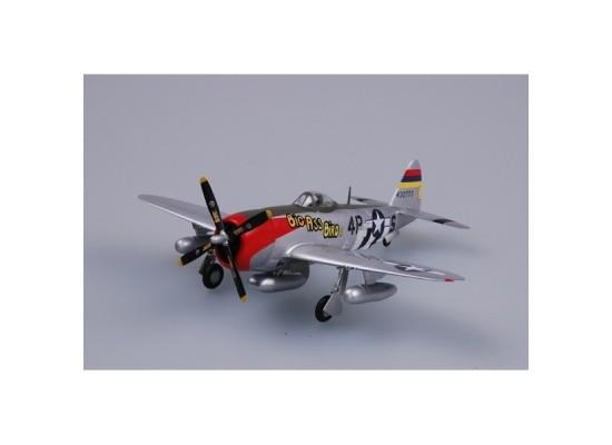 Easy Model 37286 - 1:72 P-47D 53FS, 406FG