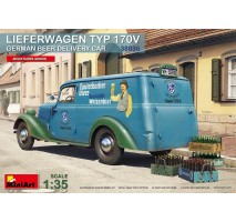 Miniart 38035 - 1:35 Lieferwagen Typ 170V German Beer Delivery Car