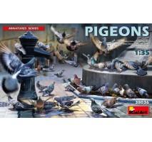 Miniart 38036 - 1:35 Pigeons - 36 figures