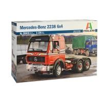 Italeri 3943 - 1:24 MERCEDES BENZ 2238 6x4