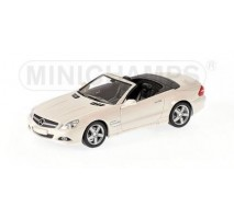 Minichamps - MERCEDES-BENZ SL-CLASS 2008 WHITE L.E. 1008 PCS.