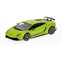 Minichamps - LAMBORGHINI GALLARDO LP 570-4 Superl. - 2010 - Green met. L.E. 1152 pcs.