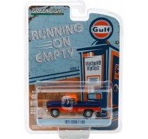 GreenLight 41070-D - 1971 Ford F-100 - Gulf Oil Solid Pack - Running on Empty Series 7