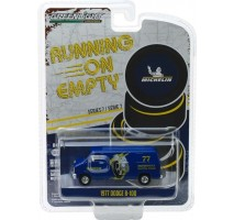 GreenLight 41070-E - 1977 Dodge B-100 Van - Michelin Tires Solid Pack - Running on Empty Series 7
