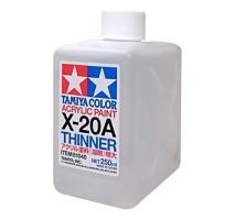 TAMIYA 81040 - X-20A Acrylic Thinner TAMIYA (250ml)