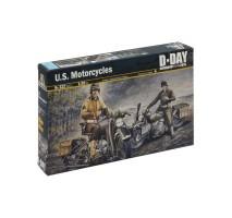 Italeri 0322 - 1:35 U.S. MOTORCYCLES WWII
