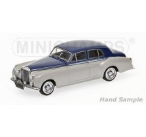 Minichamps - BENTLEY S2 - 1960 - SILVER/BLUE