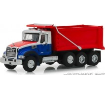 GreenLight 45060-B - 2019 Mack Granite Dump Truck Solid Pack - S.D. Trucks Series 6