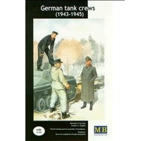 Masterbox 3508 - 1:35 German tank crew (1943-1945) Kit No.2 - 3 figures