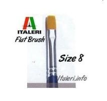 Italeri 51231 - 8 Synthetic Flat Brush