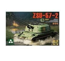 TAKOM 2058 - 1:35 Soviet SPAAG ZSU-57-2 2 in 1